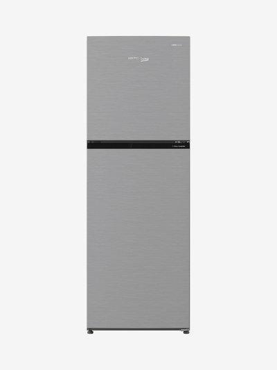 Voltas Beko 271 L Inverter 2 Star Frost Free Double Door Refrigerator (Inox, RFF2952XIR )