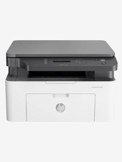 HP Laser 136nw 4ZB87A Multi Function Wireless All-In-One Printer (White/Black)