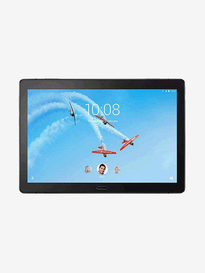 Lenovo TB-X705L Tablet (10.1 inch, 4GB RAM, 64GB, Wi-Fi plus 4G LTE), Aurora Black