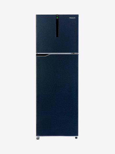 Panasonic 307L Inverter 3 Star Frost Free Double Door Refrigerator (Blue, NR-BG312VDA3)