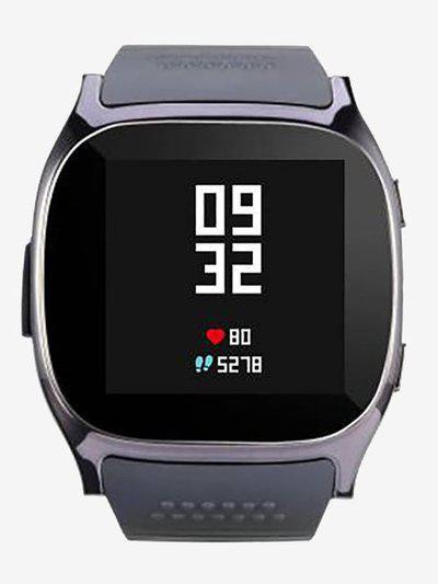 I Kall K21 Bluetooth Smartwatch (Black)