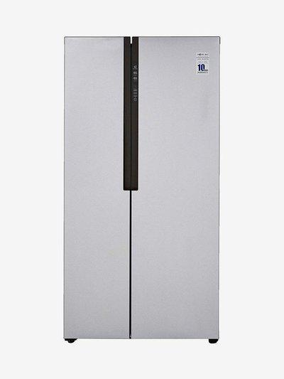 Haier HRF-619SS 565L Inverter Frost Free Side by Side Refrigerator (Silver)