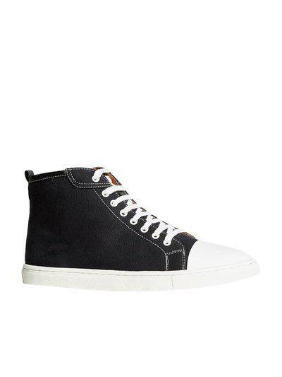 Bata Men's Black Ankle Boots