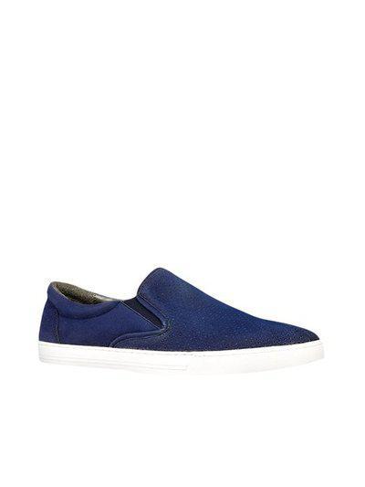 Bata Men Blue Sneakers