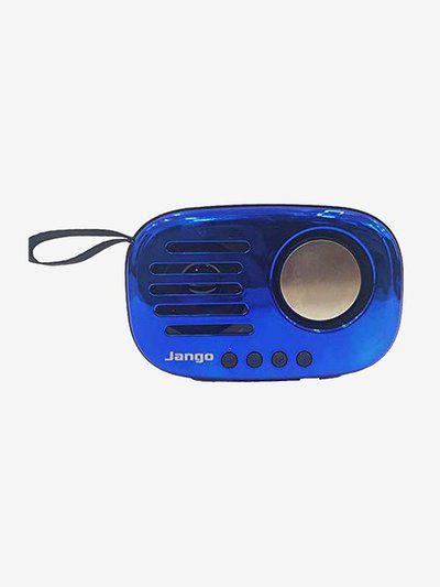 Jango A8 5W Mini Retro Loud Sound Bluetooth Speaker (Blue)
