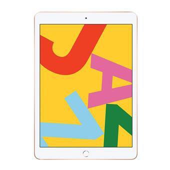 Apple iPad 7th Gen 32 GB 102 inch with WiFi plus Cellular Gold mw6d2hn a