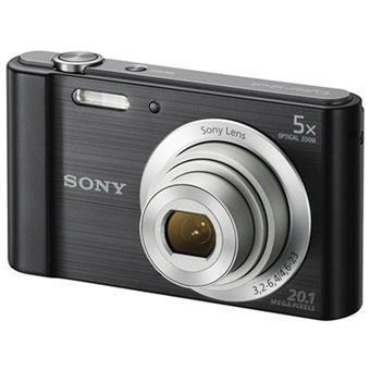 Sony DSC W800 Point & Shoot Camera (Black)